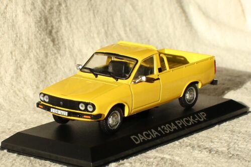 Dacia 1304 Pick up gelb Blister 1:43 Ixo//Altaya Modellauto