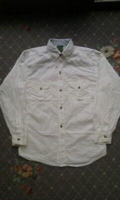 Rigoroso Camicia Chino Vintage 90s-mostra Il Titolo Originale Famoso Per Materiali Selezionati, Disegni Innovativi, Colori Deliziosi E Lavorazione Squisita