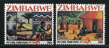 Zimbabwe Simbabwe 2005 AIDS Medizin Medicine SIDA 830-31 Postfrisch MNH