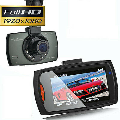 HD 1080P Car Camera Dash Cam Video Recorder 2.4'' G-sensor Night Vision^