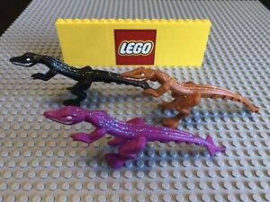 Lego 1x 54125pb01 DarkOrange Dinosaurier Dino Mutant Lizard 7296 7475 L5