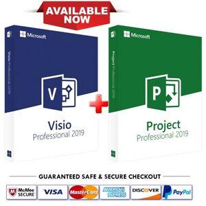 Instant-Microsoft-Visio-Professional-Project-Professional-2019-1-PC-key