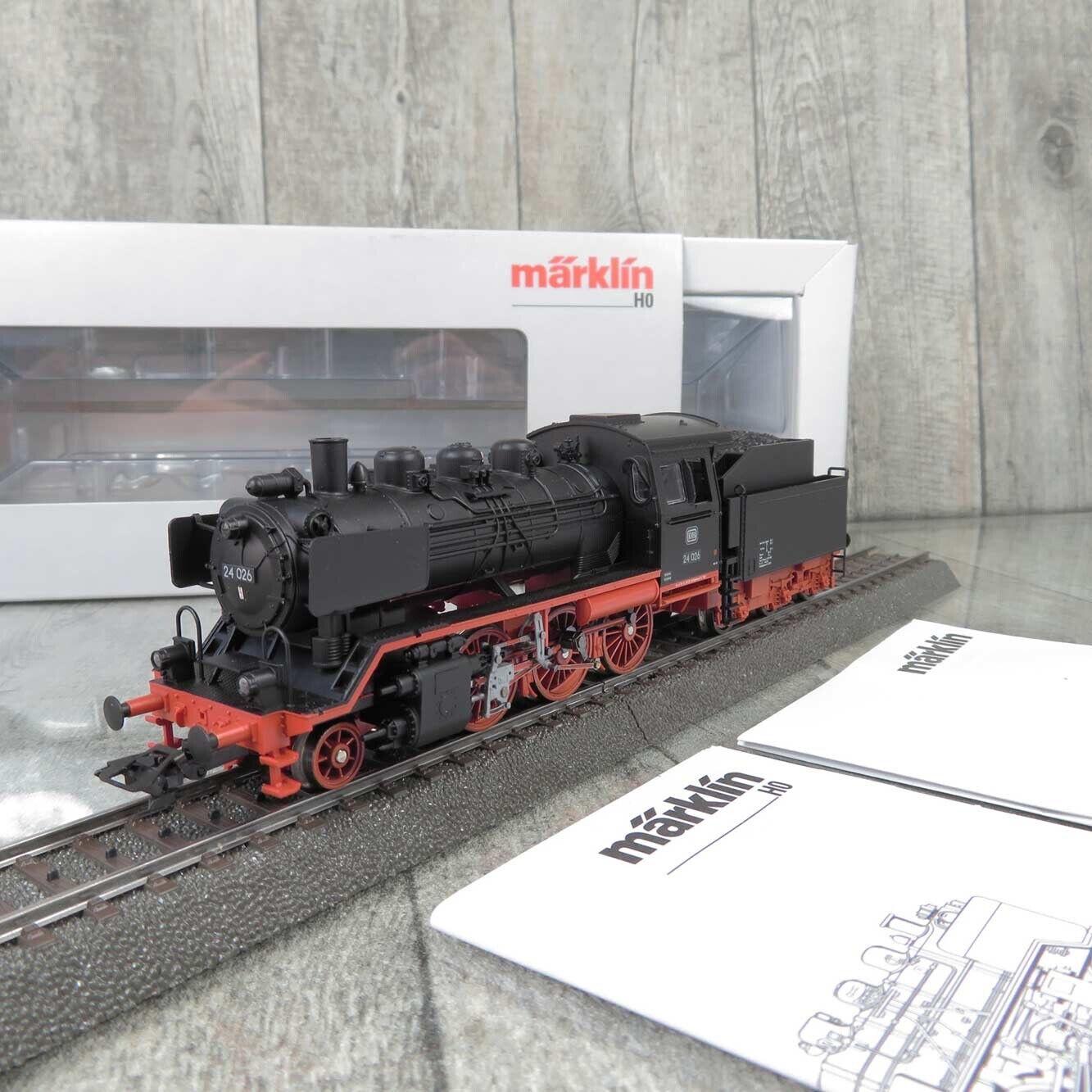 MÄRKLIN 36241 - H0 - Dampflok - DB 24 026 - Digital Adr. 78 - OVP -  Q25565