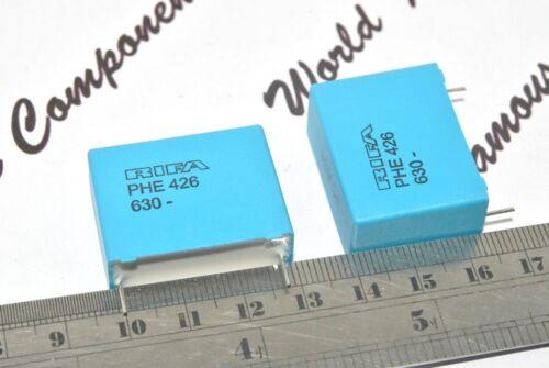 630 V 5/% Hauteur 2pcs-RIFA PHE426 1uF 1µF 27.5 Condensateur PHE426MF7100JR06L2