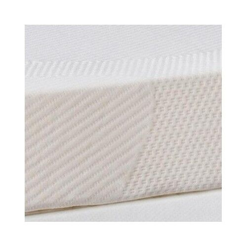 Full Mattress Topper Memory Foam Pad Cover Protector Matress Bed White 4 Inch