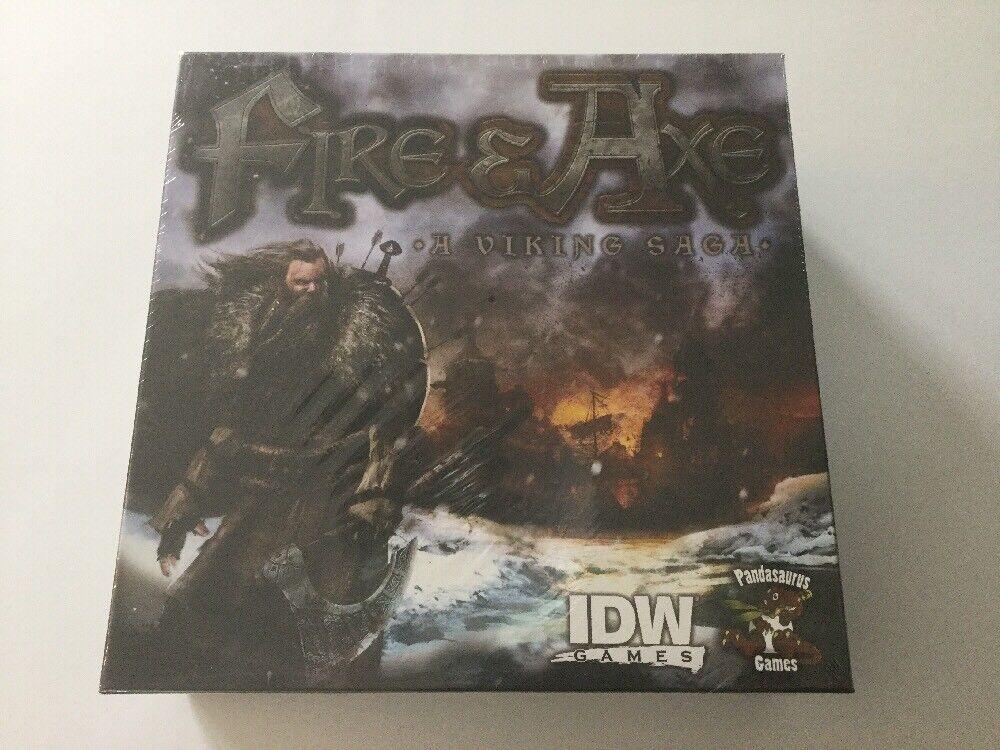 Fire and Axe  un Viking Saga Jeu de société Power & Glory conquérir l'Europe IDW Chop NEUF