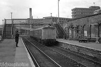 British Rail Derby built DMU Barnsley South Yorks Rail Photo