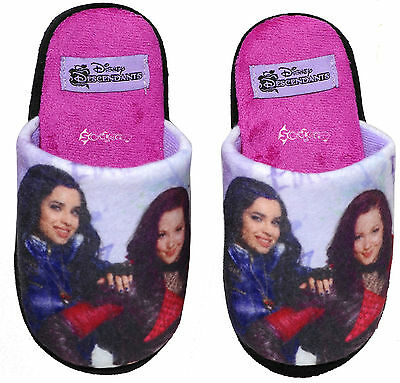 Girls Disney Descendants Mule Slippers Sizes 11-4 Gift Dove Cameron Liv & Maddie