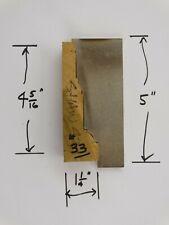 Shaper Molder Custom Corrugated Back Cb Knives For 4 516 Casing