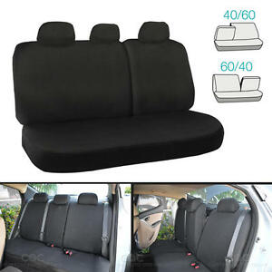 60 40 Split Bench Seat Cover For Auto Car SUV 6pc Cloth