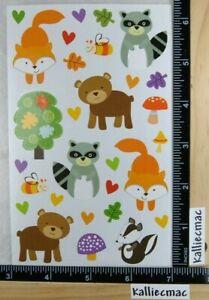 Mrs Grossman PLAYFUL WOODLAND PALS Stickers Friends