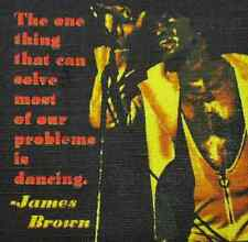 JAMES BROWN QUOTE - Printed Patch - Sew On - Vest, Jacket, Backpack, Bag,Tshirt