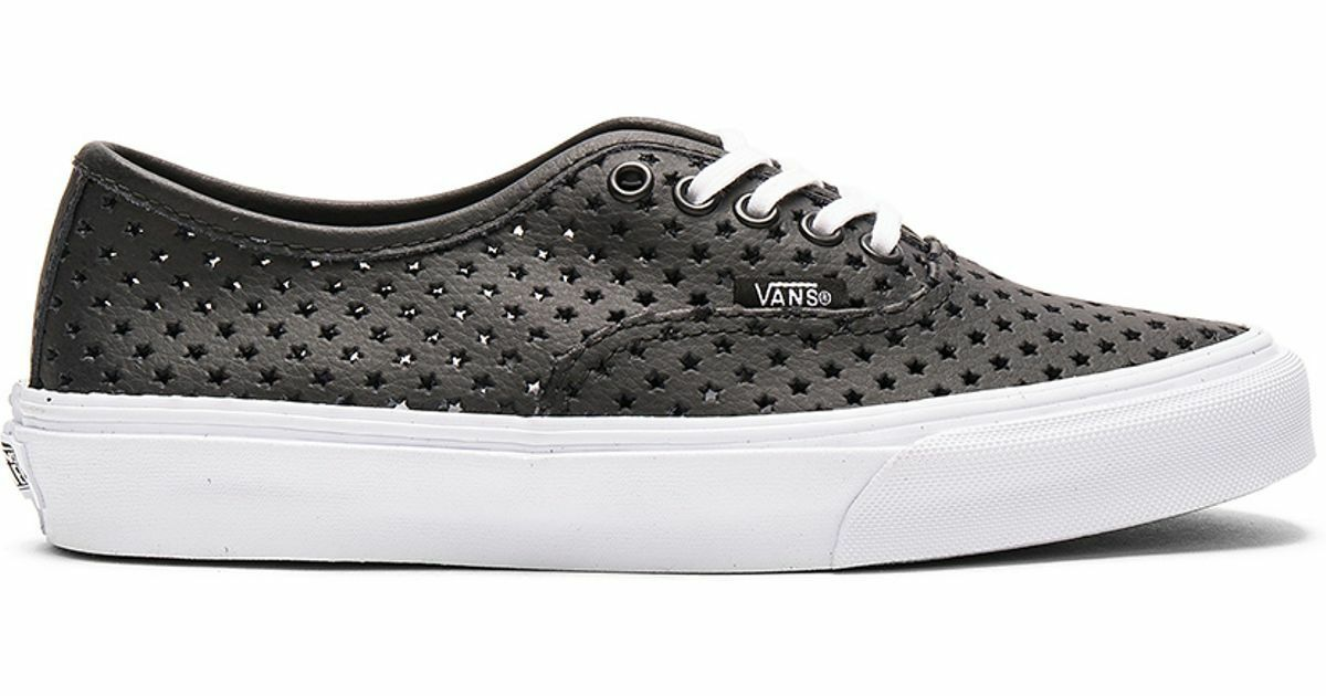 Vans AUTHENTIC SLIM PERF  STARS BLACK Skate Schuhes  PERF Herren 6.5 Damenschuhe 8 CLASSICS NIB 182c44