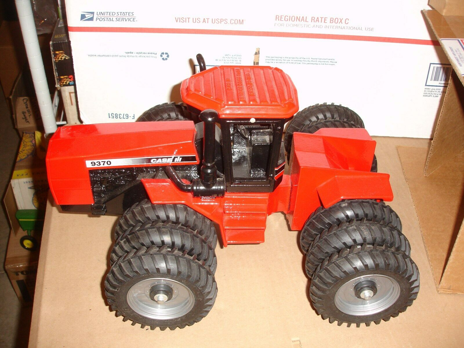 1 16 case 9370 with  thriples toy tractor