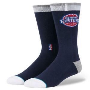 Stance-NBA-Detroit-Pistons-ARENA-Logo-Crew-Elite-Socks-Large-9-12-Blake-Griffin
