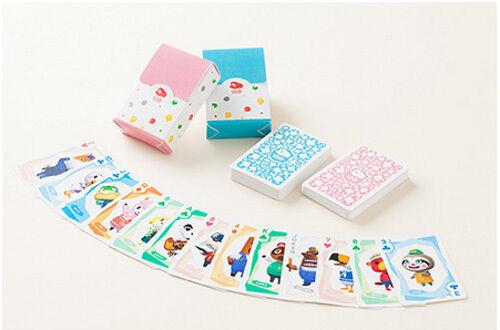 USED Doubutsu no Mori Mini Trump JP Club Nintendo Playing Cards Animal Crossing