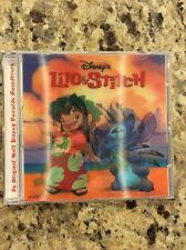 Lilo & Stitch Cd Soundtrack Limited Edition Lenticular Cover /30000 Disney Store