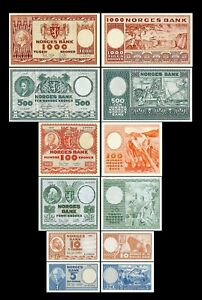Norway-2x-5-1-000-kroner-Edition-1948-1976-reproduction-04