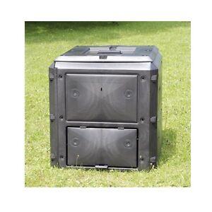 BioQuick-Komposter-KHW-420-Liter-Abfallbehaelter-Schnellkomposter-NEU
