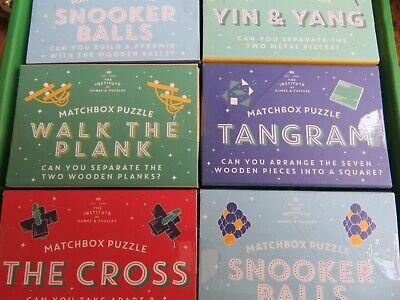 Professor Puzzle Matchbox Puzzles Snooker Balls