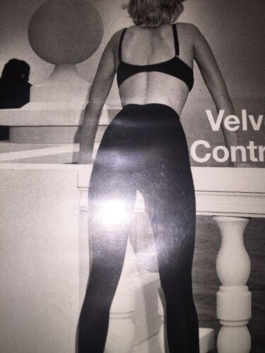 Wolford Velvet Control Tights Helmut Newton Photo Small 18075-25 Black