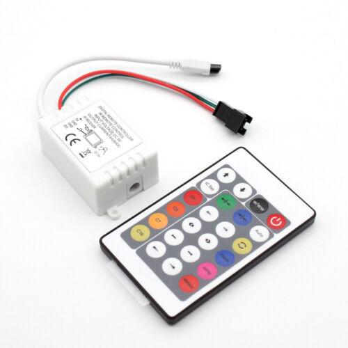 3Pin LED 24key IR Controller Fernbedienung Für WS2812B WS2812 LED Streifen DC 5V