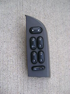 LEFT SIDE MASTER POWER WINDOW SWITCH 02-05 FORD EXPLORER DRIVER