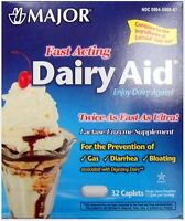 Dairy Aid Lactase Enzyme Caplets (comp To Lactaid Fast Act) 9000u 32ct