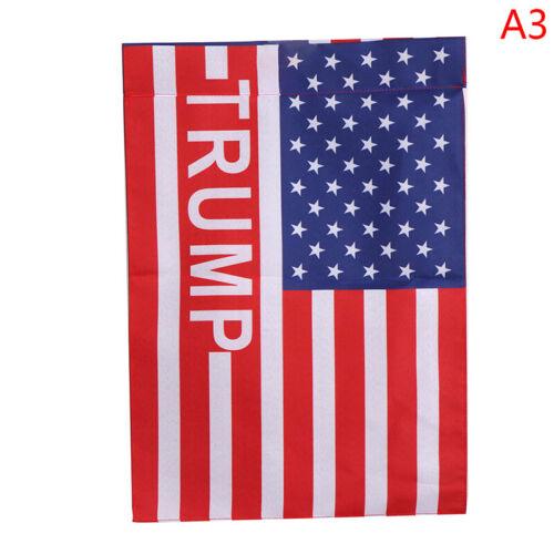 1X Donald Trump Gartenfahne 30*45cm,Halten Amerika großar sp