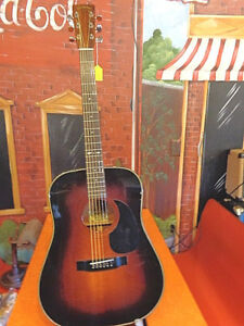 sigma dm 4s by c f martin acoustic guitar korea beautiful with hard case ebay. Black Bedroom Furniture Sets. Home Design Ideas