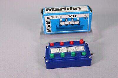 Märklin stellpult Panneau de Commandes 7071//475//6 tôle de premier ordre dans neuf dans sa boîte