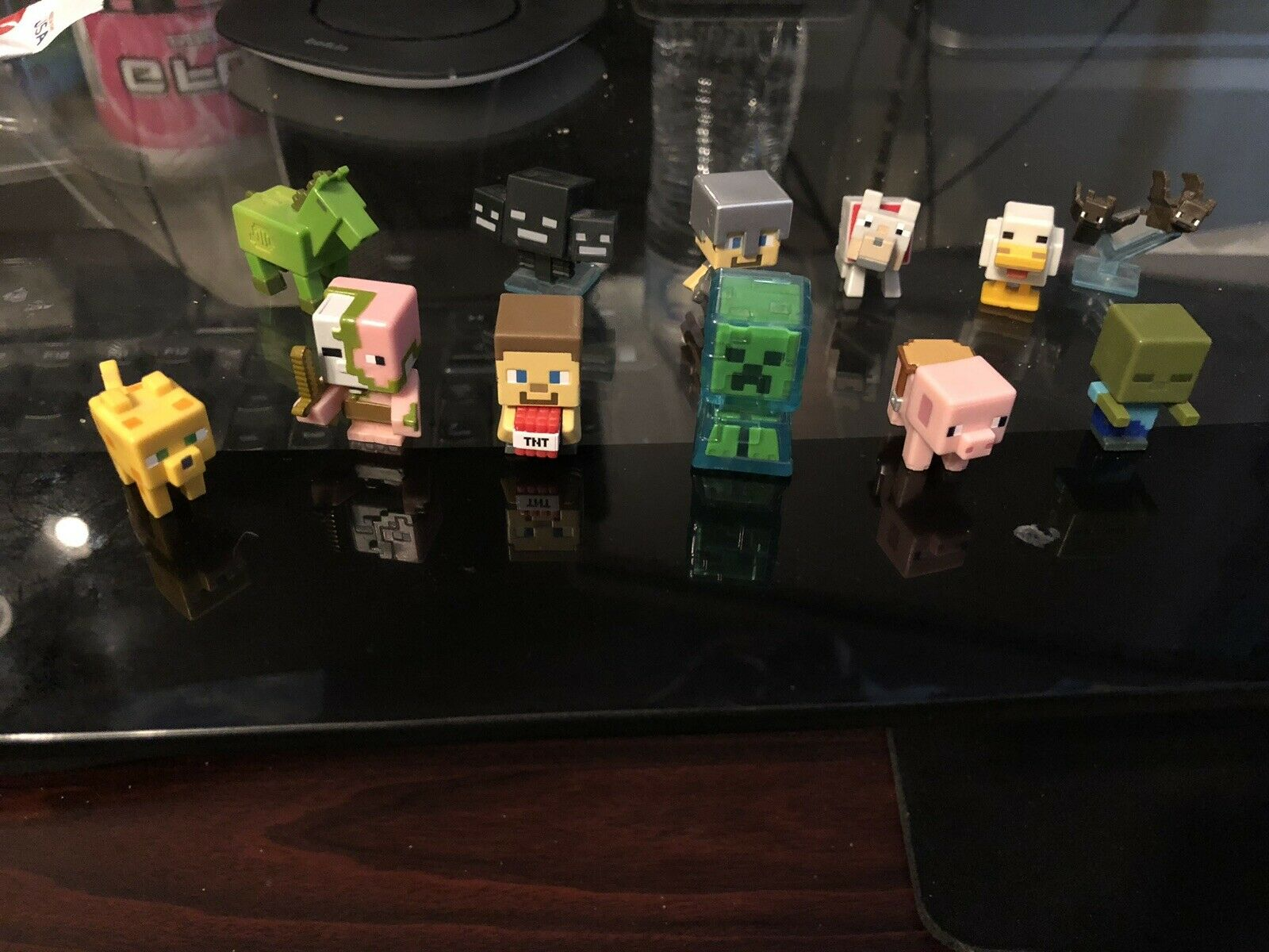 JUEGO COMPLETO  Piedra De Minecraft Abierto Serie 2 cajas de misterio