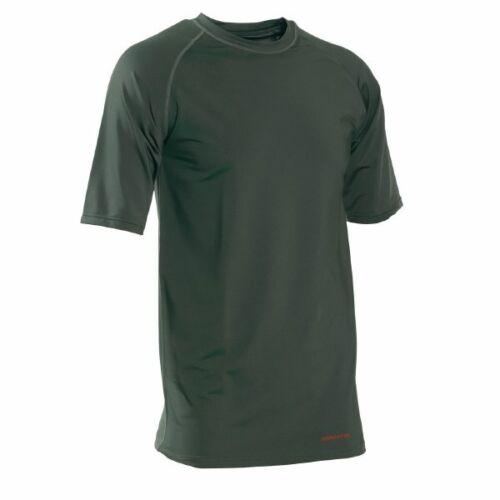 Deerhunter BAMBOO T-Shirt Biancheria intima termica a maniche corte top verde