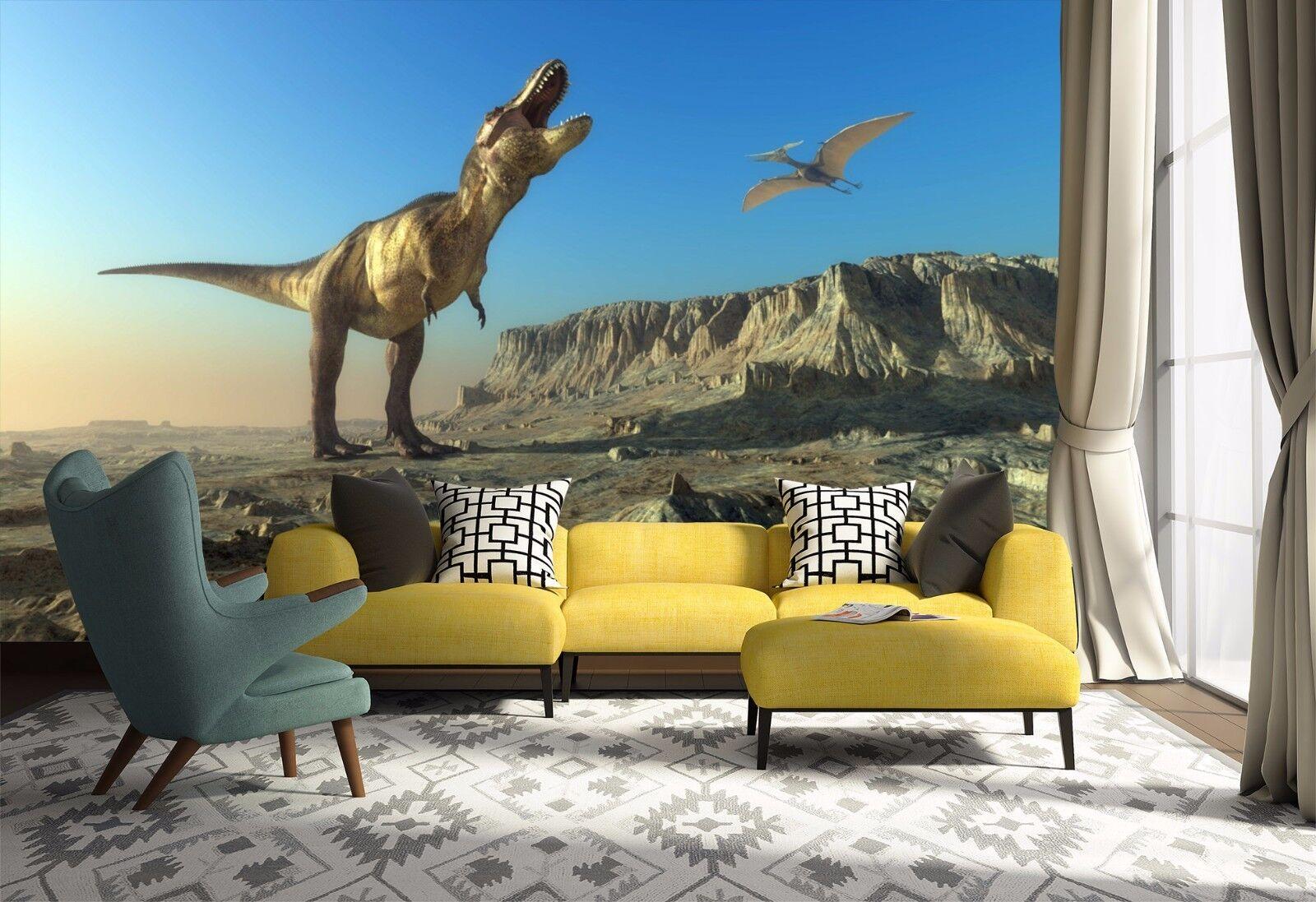 3D Various Dinosaurs 03 WallPaper Murals Wall Print Decal Wall Deco AJ WALLPAPER