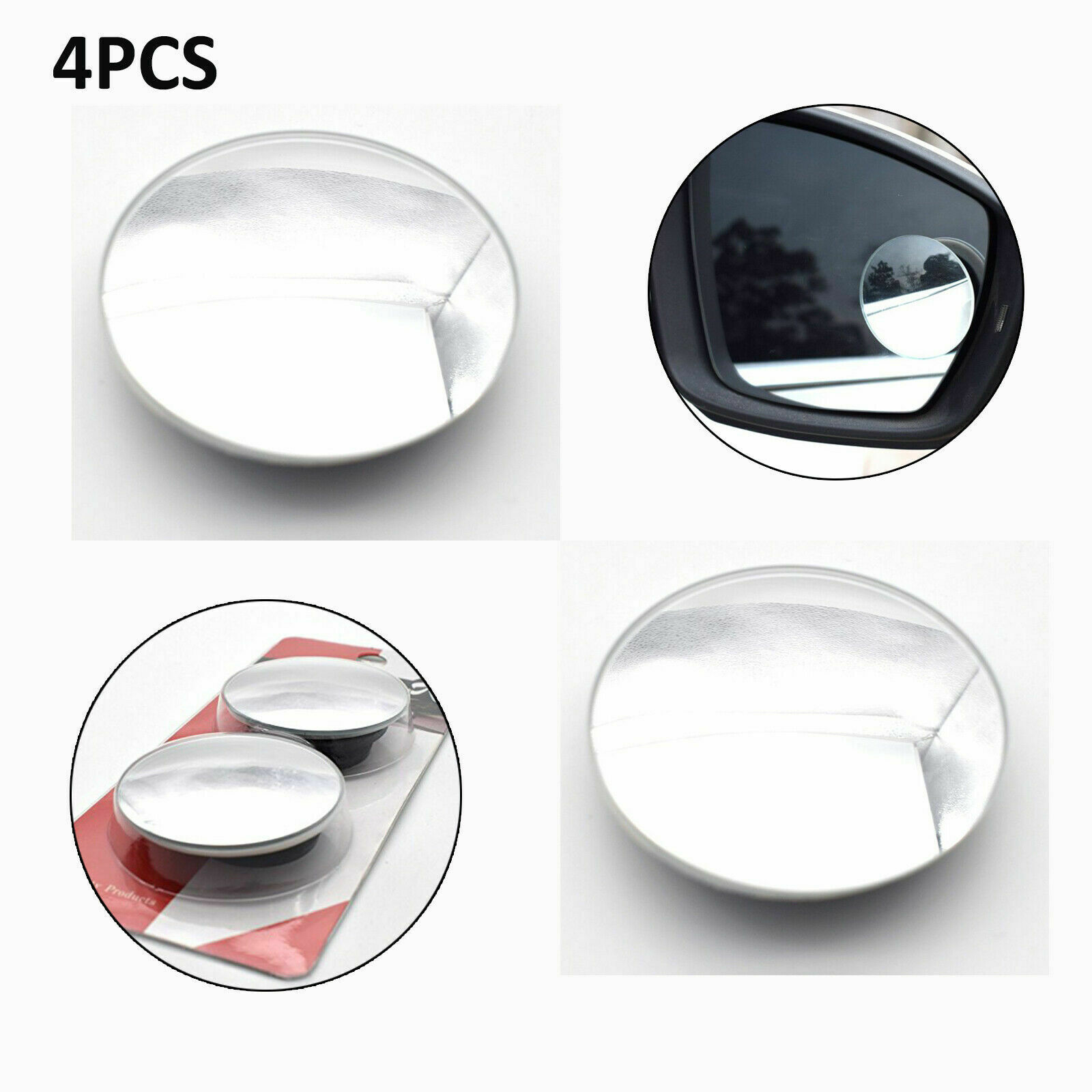 Car Ice Alert Side Mirror Thermometer dia 4cm Self Adhesive BRAND NEW