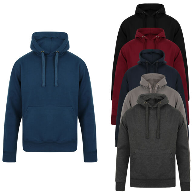 S-6XL Mens Hoodie Cotton Tops Pullover Sweater Full Length Outwear Nightclub hot