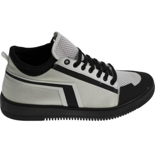 Calzino Tessile Laser Art Gommato Bassa Sneakers tn01001 Strappo Inserti Bianco qwP8OWtXx