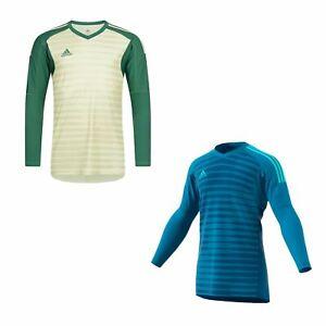 ADIDAS adiPro 18 gardien shirt juniors Football Soccer Gk Jersey Top T-Shirt