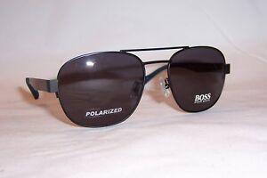 666caa226c NEW HUGO BOSS Sunglasses 0896 F S 0MB-3H BLUE SMOKE POLARIZED ...