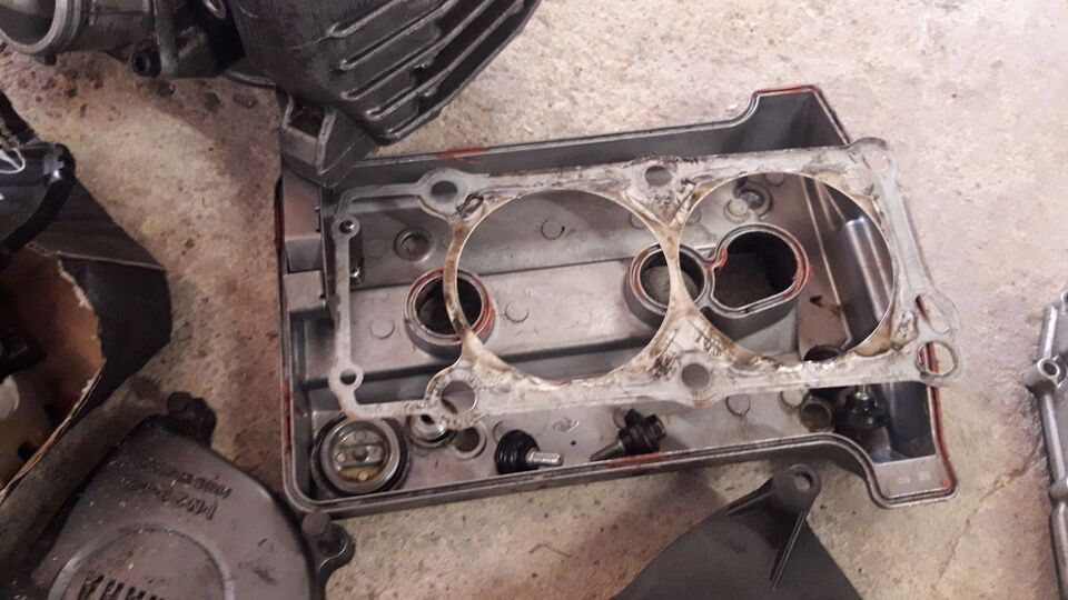 Yamaha Xtz 750 årg. 1995: Motordele