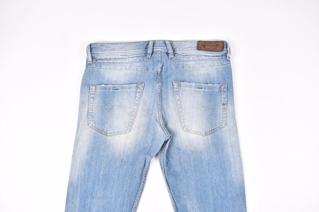 Diesel Belther 827F Regular Slim Tapered Men Jeans Size 32 32