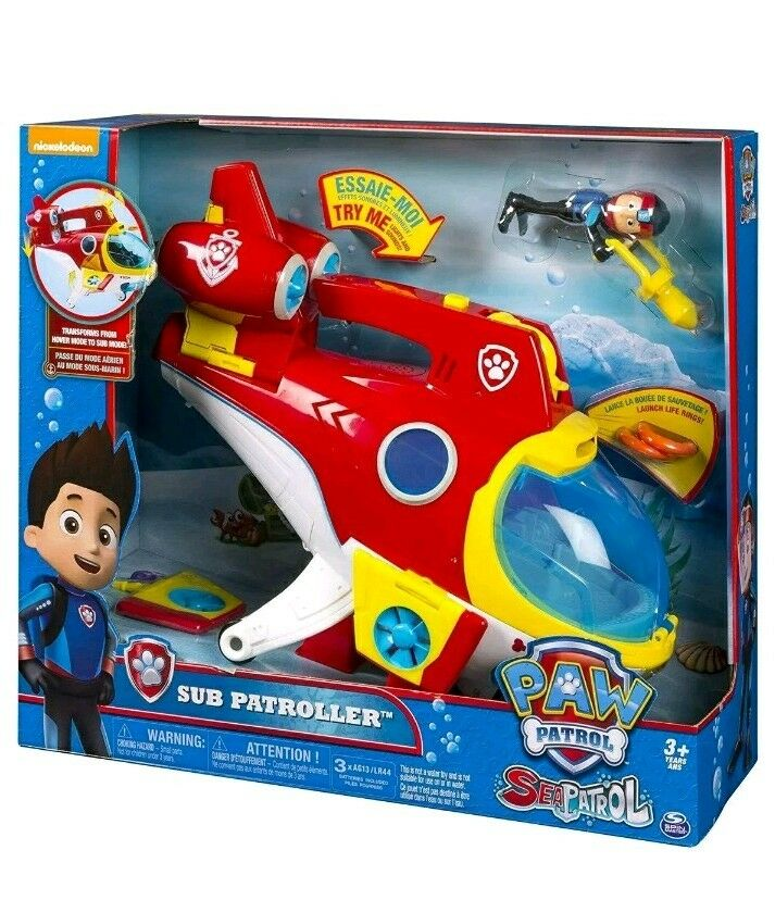 Paw Patrol Sea Sub Patroller Submarine Playset