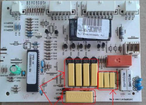 kit reparation carte puissance refrigerateur americain whirlpool