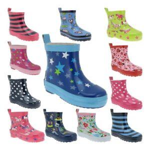 buy online 93a3b 03d4a Details zu PLAYSHOES Mädchen Jungen Gummistiefel Kurzschaft Regenstiefel  Stiefel Kinder NEU