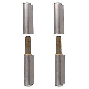 Discret Enlever Charnière Balle Douille En Laiton à Souder 18x135mm Trappe Porte 2pk