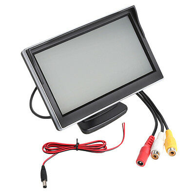 "5"" TFT LCD Car Monitor Screen HD Digital Car Rearview VCD/DVD/GPS Camera New"