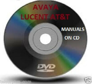Details about AT&T Lucent Avaya Partner & Endeavor Phone System Manual  Guide & Voice Mail CD