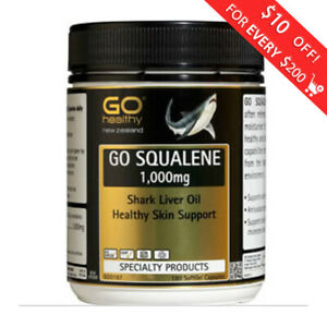 Go-Healthy-Go-Squalene-1000mg-Shark-Liver-Oil-180-Capsules-FREE-SHIPPING-FROM-NZ