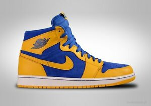 f232b84d8db6 2013 Nike Air Jordan 1 Retro High OG Laney Size 8.5. 555088-707 bred ...