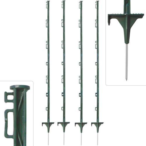 20 Stk Zaunpfähle für Weide /& Koppel 160 cm Kunststoffpfähle Weidezaunpfähle